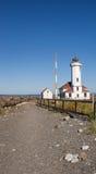 Passage couvert de Wilson Lighthouse de point Image stock