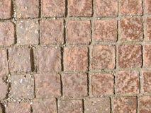 Passage couvert en pierre Photo libre de droits