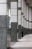 Passage couvert en pierre Images stock