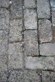 Passage couvert en pierre dans le fort ville de San Pedro, Cebu, Philippines Photographie stock libre de droits