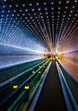 Passage couvert mobile souterrain au National Gallery de l'art, dans Wa images libres de droits