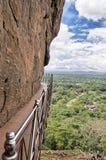 Passage couvert, Sigiriya, Sri Lanka images libres de droits