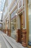 Passage décoratif de marbre d'équilibre Photographie stock libre de droits