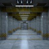 Passage d'ascenseur Images libres de droits