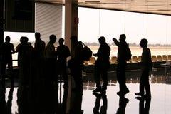 Passage d'embarquement s'il vous plaît Photo libre de droits