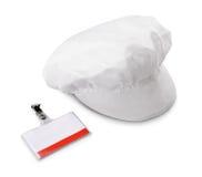 Passage d'identification de chapeau et de garantie Image libre de droits
