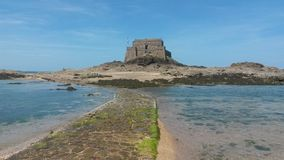 Passage de Be in low tide Royalty Free Stock Images