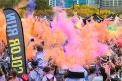 Passage de couleur de Chicago Image stock