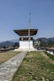Passage de Dochula, Punakha, Bhutan Image stock