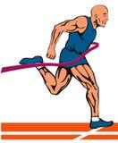 Passage de finissage de sprinter Image libre de droits