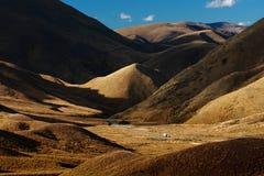 Passage de Lindis, Nouvelle Zélande Image stock