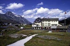 Passage de Maloja, Suisse Photographie stock