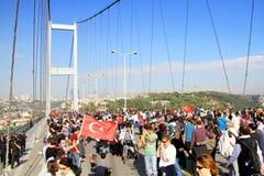 Passage de marathon d'Eurasia Photo libre de droits