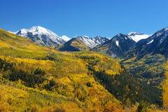 Passage de McClure de couleur de chute, marbre, le Colorado Image libre de droits