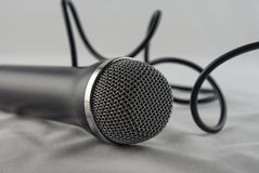 passage de microphone Image stock
