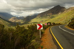 Passage de montagne photo stock