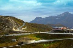 Passage de montagne Photographie stock libre de droits