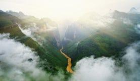 Passage de montagne de MaPiLeng Photographie stock