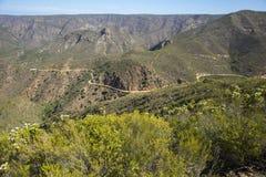 Passage de montagne de ravin de Baviaans Images stock
