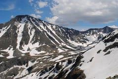 Passage de montagne, Kuiguk, République Altai de Kolban de montagne Image stock
