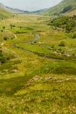 Passage de Nant Ffrancon de cottage d'Idwal Photo stock