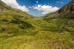 Passage de Nant Ffrancon de cottage d'Idwal Image libre de droits