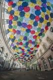 Passage de parapluie Image libre de droits