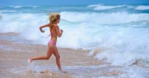 Passage de plage d'été image libre de droits