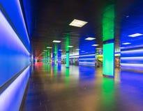 Passage de ShopVille de la station principale de Zurich Photo stock