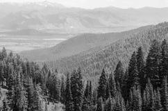 Passage de Teton Photos libres de droits