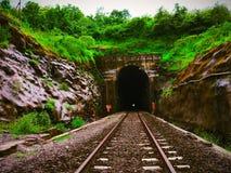 Passage de tunnel de train image libre de droits