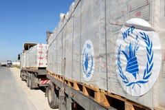 Passage des frontières de Kerem Shalom Photo libre de droits