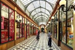 Passage des Princes, Paris, France Stock Images