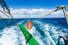 Passage des Schiff Meeres Lizenzfreies Stockfoto