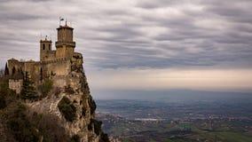 Passage des sorcières chez la république de San Marino Image libre de droits