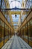 Passage du Grand Cerf in Parijs Stock Foto