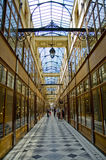 Passage du Grand Cerf  in Paris Stock Photo