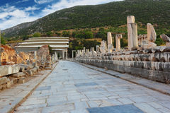 Passage in Ephesus Royalty Free Stock Images