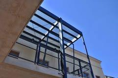 Passage extérieur d'escaliers Photos stock
