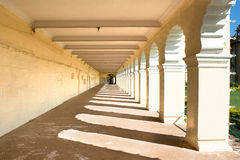 The passage of the famous Mysore Palace Royalty Free Stock Photography