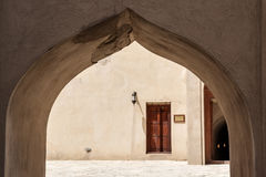 Passage Fort Nizwa Stock Images
