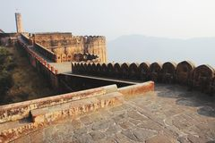 Passage on Fort Terrace Royalty Free Stock Photography