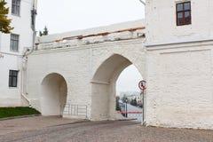 Passage gates in wall in Kremlin, Kazan Stock Photo