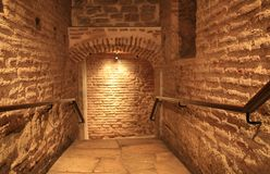 The passage in Hagia Sophia, istanbul Royalty Free Stock Image