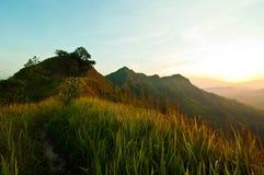 Passage i berget Royaltyfri Foto