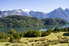Passage intérieur des fjords chiliens Images stock