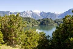 Passage intérieur des fjords chiliens Photo libre de droits