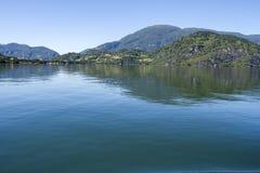 Passage intérieur des fjords chiliens Image libre de droits