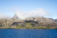 Passage intérieur des fjords chiliens Images libres de droits