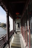 The passage  beside Jiaxing South Lake Royalty Free Stock Photo